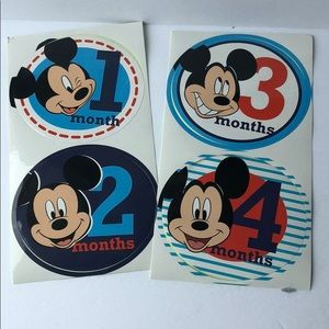 DISNEY Baby First Year Stickers